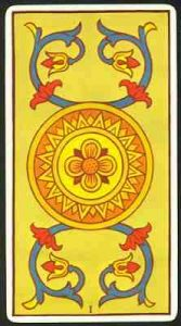 as de oros tarot